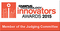 Daniel Christian: Member of the Judging Committee for the 2015 Campus Technology Innovators Awards!