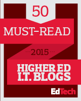 2015 Must-Read Higher Ed IT Blogs