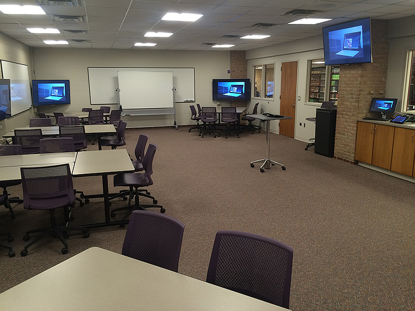 The Sandbox Classroom at Calvin College - Full classroom perspective