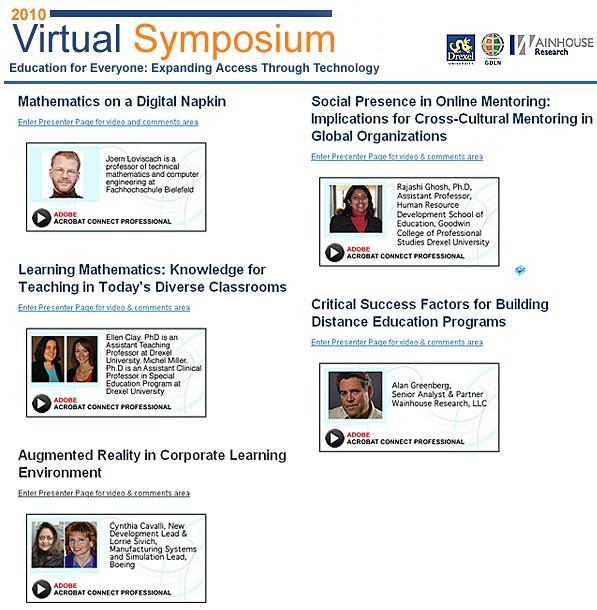 2010 Virtual Symposium