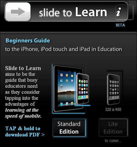 Slide to learn