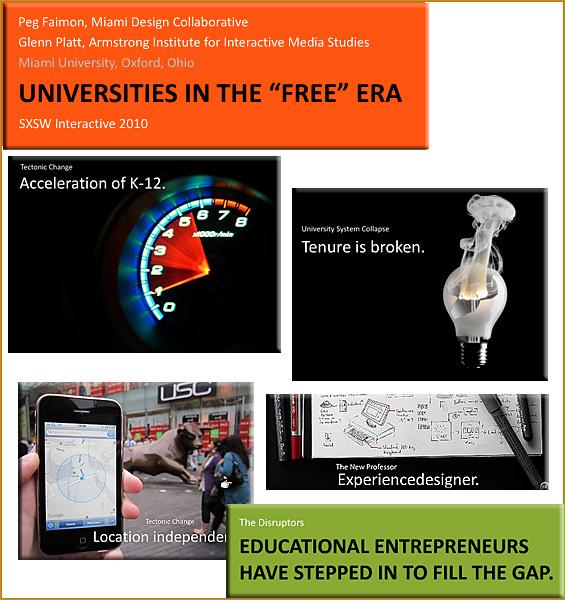 Universities in the Free Era