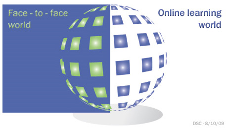 Let's take the best of both worlds -- online learning and face-to-face learning