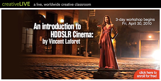 CreativeLive -- free online courses
