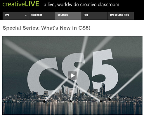 Creative Live -- CS5