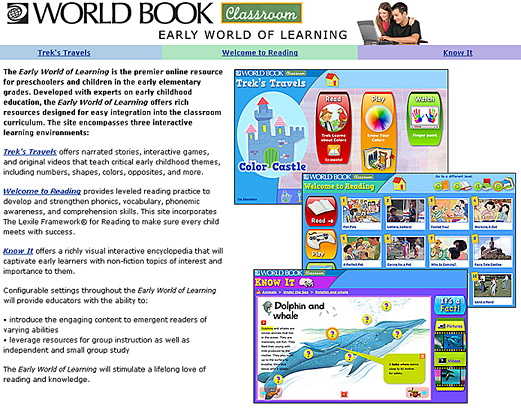 World Book's Early World of Learning