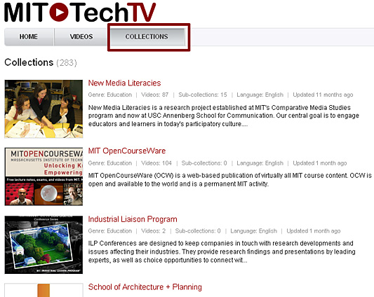 MIT Tech TV
