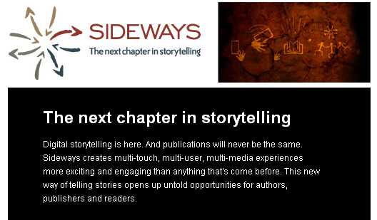 Sideways.com -- taking digital storytelling and publishing to the next level