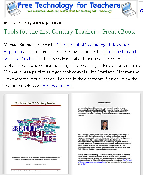 Tools for the 21st Century Teacher