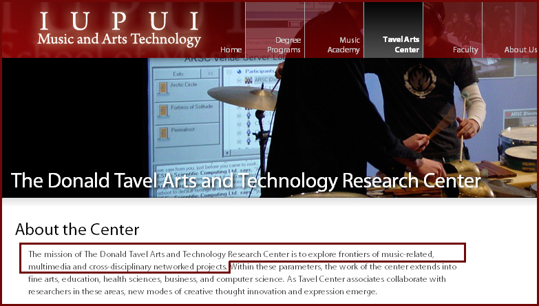 IUPUI Arts & Technology Research Center