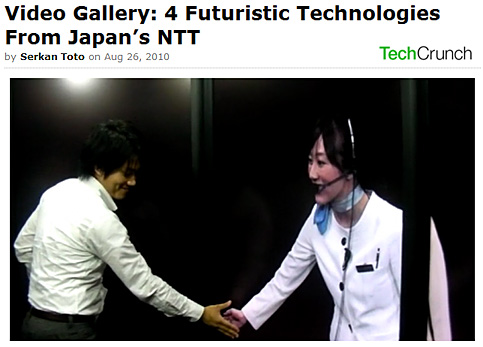 Video Gallery: 4 Futuristic Technologies From Japan's NTT