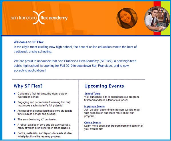 San Francisco's new Flex Academy