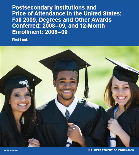 Price of attendance and degrees conferred