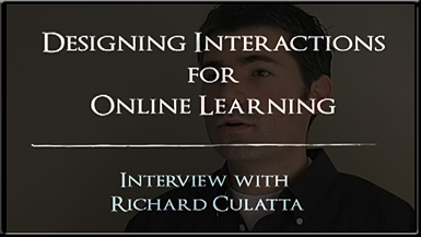 Designing interactions for online learning
