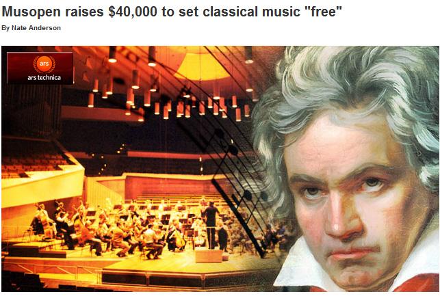 Setting Classical Music Free