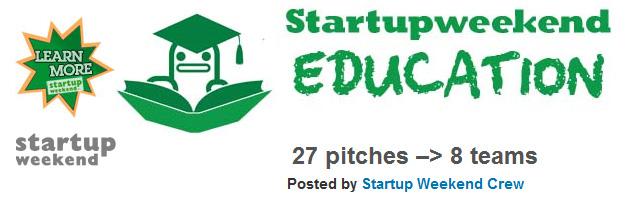 Startup Weekend  -- Education -- fall 2010 -- from bayarea.startupweekend.org