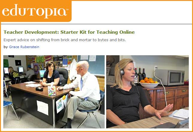 Starter kit for teaching online