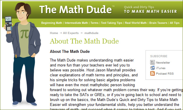 The Math Dude