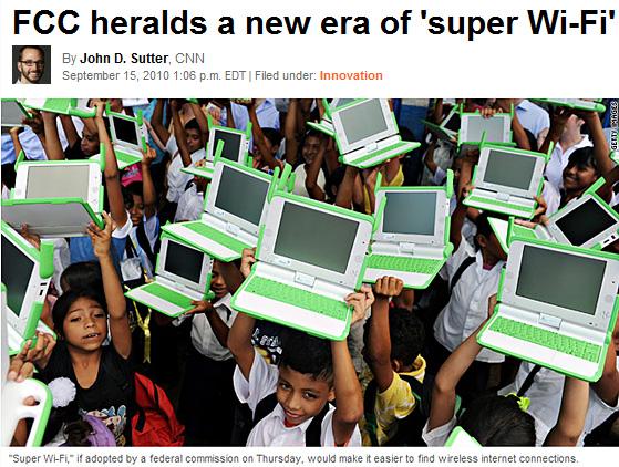 FCC heralds a new era of super wi-fi