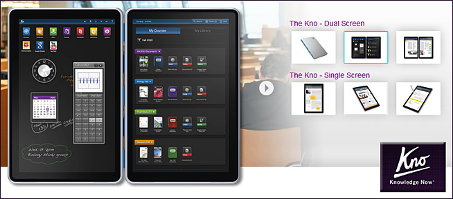 The Kno Tablet