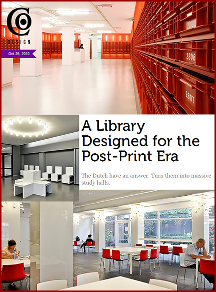 Dutch library for the post print era