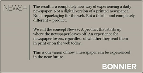 News+ -- the newspaper re-imagined -- has implications for future textbooks