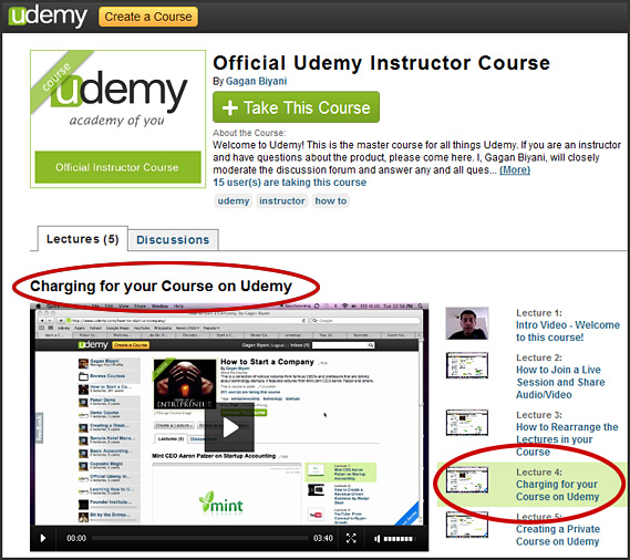 Is this the future? Udemy now permits you to charge for your course on Udemy.