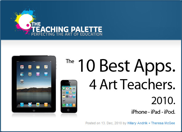 the-10-best-iphone-and-ipad-apps-for-art-teachers-2010/