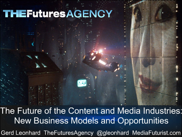 The future of media -- Gerd Leonhard -- Dec 2010