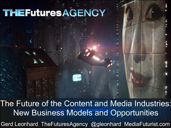 The future of media -- Gerd Leonhard -- Dec 2010