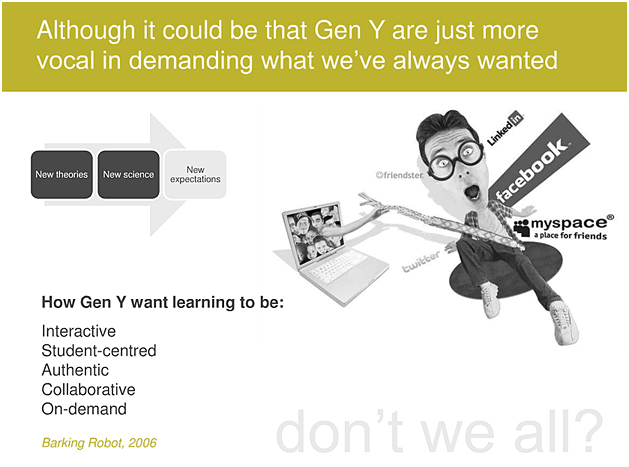 The e-learning skills gap -- by Clive Sheperd -- Jan 2011
