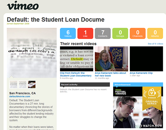 Student Loan Docume -- videos on Vimeo