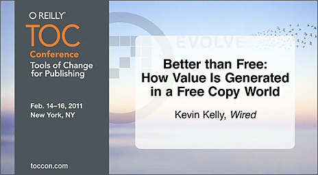 Better than free: How value is generated in a free copy world