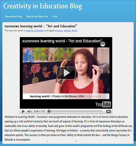 euornews learning world -- Art and Education