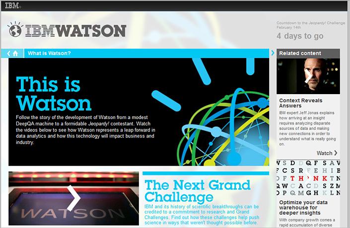 IBM's Watson -- incredible AI!