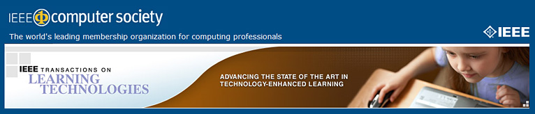 IEEE Transactions on Learning Technologies (TLT) is an archival journal published quarterly. TLT covers research on such topics as Innovative online learning systems, Intelligent tutors, Educational software applications and games, and Simulation systems for education and training.