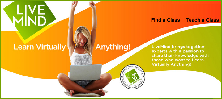 Live Mind -- an online learning marketplace