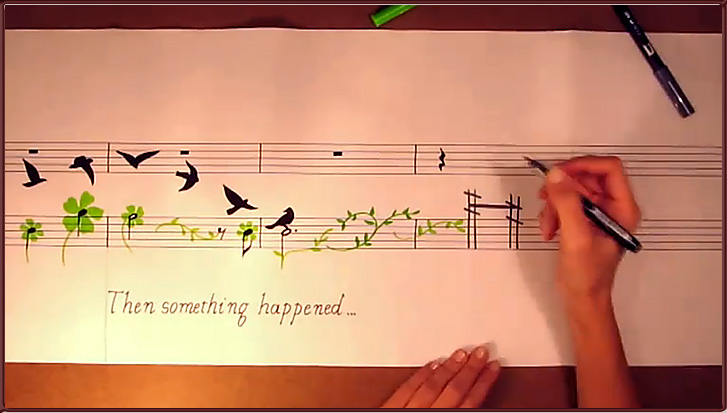 Music Painting -- Amazing!