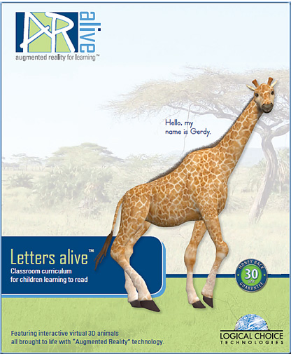 Augmented reality used for learning -- Letters Alive
