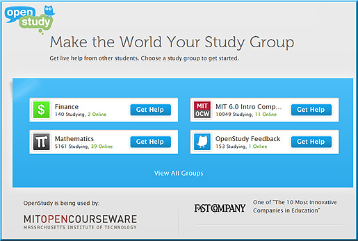 OpenStudy.com -- Make the World Your Study Group
