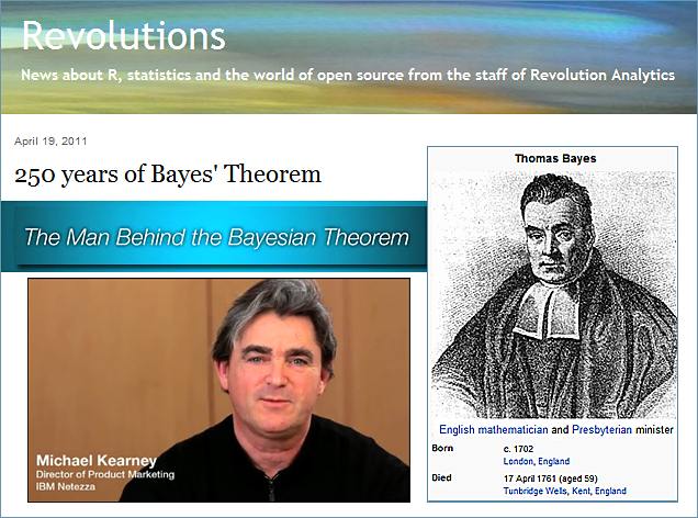 250 years of Bayes Theorem -- a brilliant minister and mathematician; the man behind Bayes Theorem