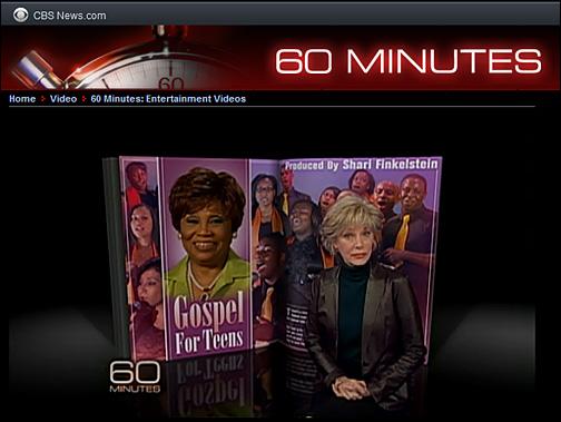 Part 1 of Gospel for Teens -- CBS 60 Minutes
