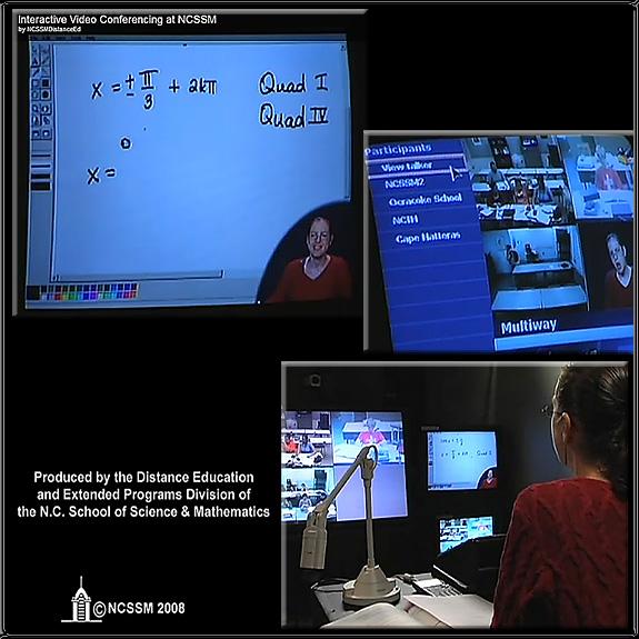 Interactive Videoconferencing at NCSSM -- 2008