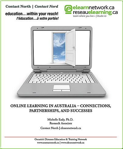 Comprehensive report regarding online learning in Austrialia - April 2011