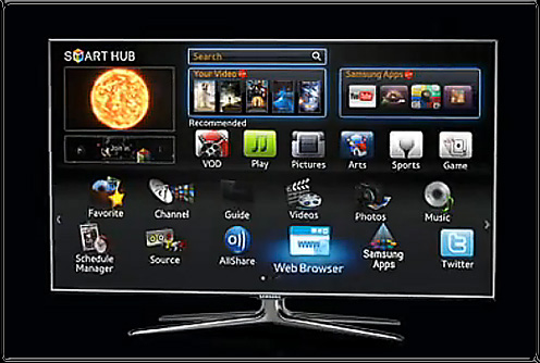 The Samsung Smart TV -- April 2011