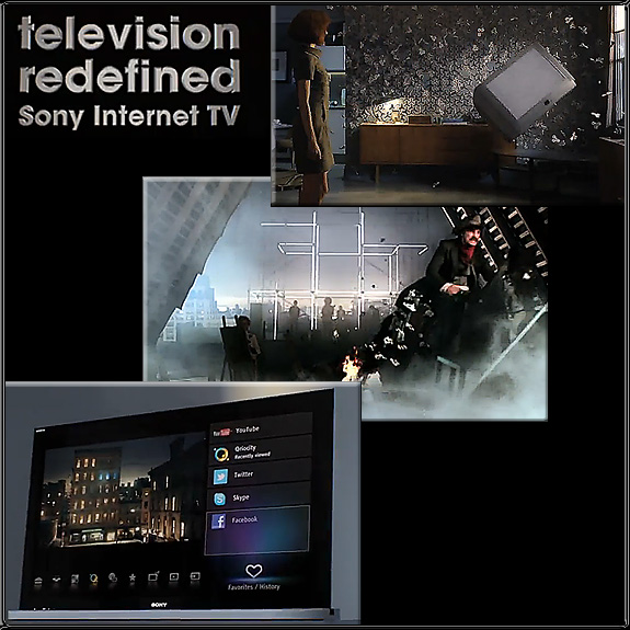 Sony -- The TV -- Redefined --April 2011