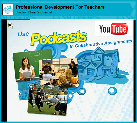 Using podcasts in collaborative assignments -- from Simple K12