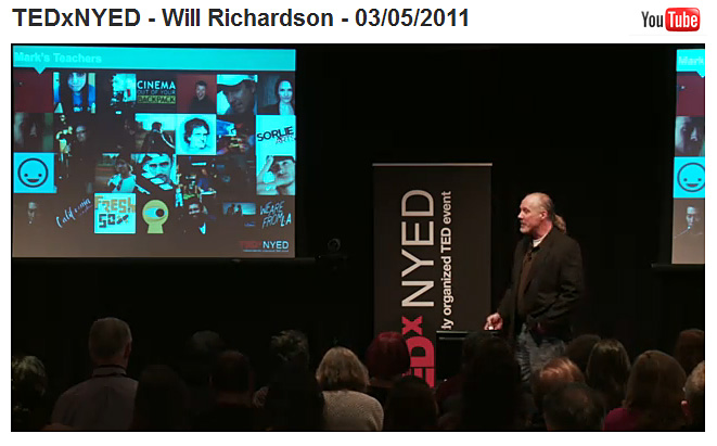 Will Richardson -TEDxNYED Talk -- 3-5-11