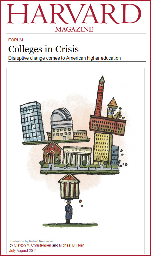 Colleges in Crisis - Harvard Magazine -- July-August 2011
