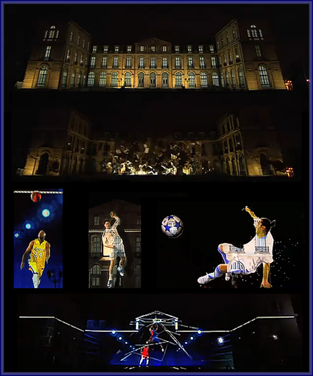 Adidas France 3D Mapping Projection -- incredible creativity and innovation!